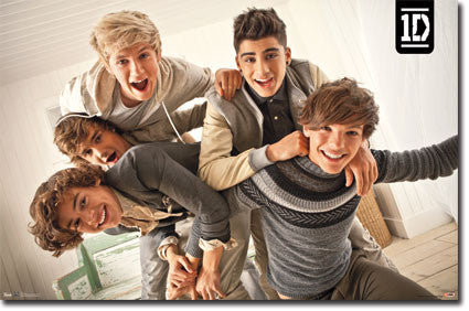 1D – Close Up Music Poster 22x34 RP5859  UPC:017681058596 One Direction