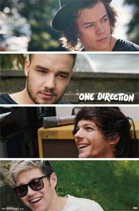 1D - Group Collage Music Poster RP14431 UPC882663044313 One Direction 22x34