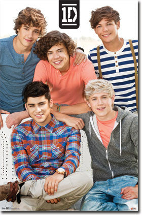 1D – Group Music Poster 22x34 RP5781  UPC:017681057810 One Direction