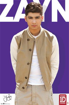 1D – Zayn Malik Music Poster 22x34 RP5770 UPC017681057704 One Direction
