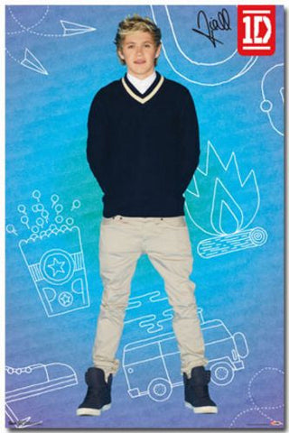 1D - Niall - Pop Music Poster RP6044 One Direction