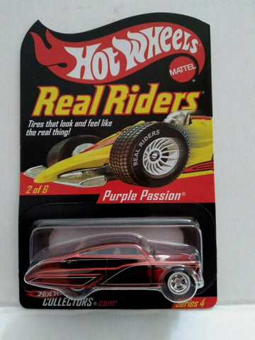 2004 Hot Wheels Purple Passion RLC Real Riders Opening Hood Series 4