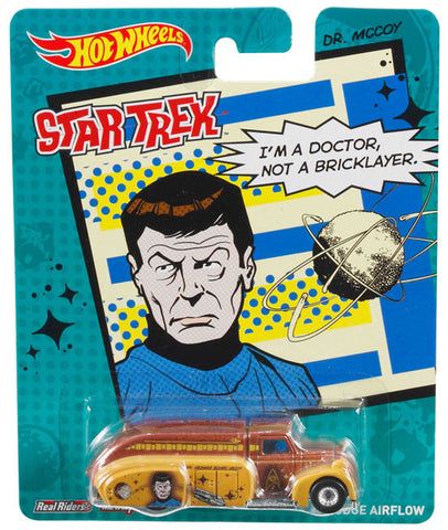 New 2014 Hot Wheels Star Trek Die-Cast Car Dr. McCoy [Bones] '38 Dodge Airflow Truck