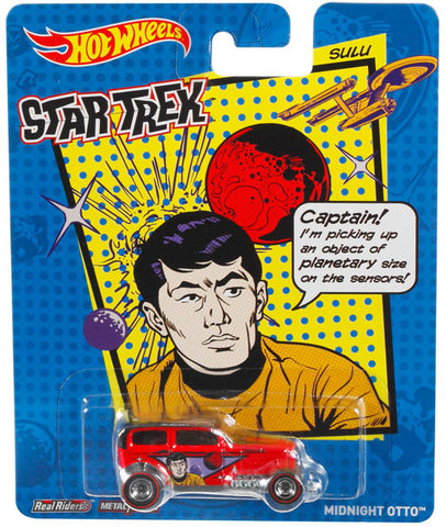 New 2014 Hot Wheels Star Trek Die-Cast Car Sulu Midnight Otto Car