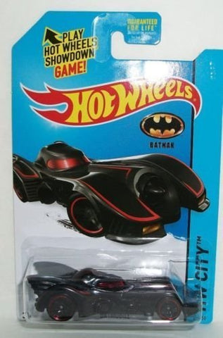 New 2015 Hot Wheels Batmobile HW City Batman Car