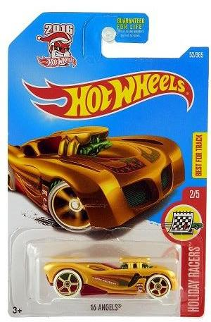 New 2017 Hot Wheels 16 Angels Holiday Racers Car