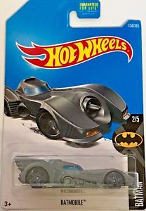 New 2017 Hot Wheels Batmobile DC Batman Car
