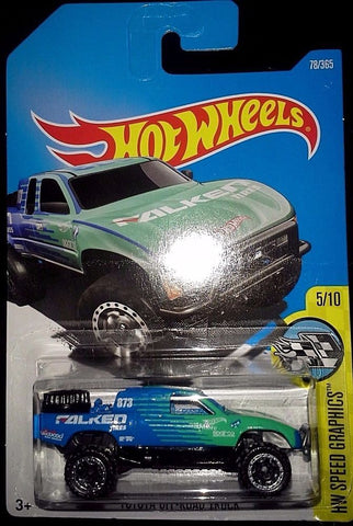New 2017 Hot Wheels Speed Graphics 5-10 Toyota Off-Road Truck