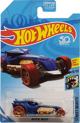 New 2018 Hot Wheels Ratical Racer Treasure Hunt Car