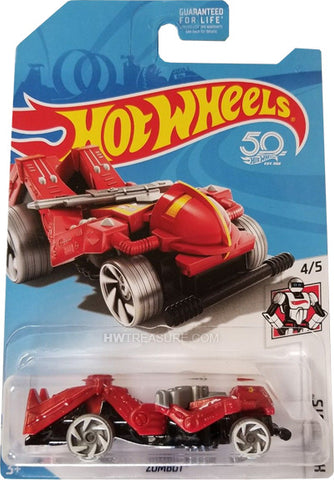 New 2018 Hot Wheels Zombot Treasure Hunt Car