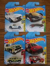 New 2018 Hot Wheels December K-Day Full Set of 4 Kmart Exclusive Cars