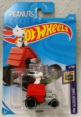 New 2018 Hot Wheels Snoopy Peanuts 25-365 HW Screen Time 5-10 Car