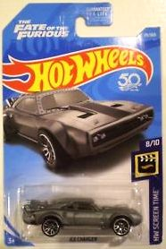 New 2018 Hot Wheels The Fate Of The Furious Ice Charger HW Screen Time 8-10 Car Movie Car