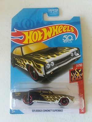 New 2018 Hot Wheels '69 Dodge Coronet Superbee Walgreens Exclusive 1969 Car