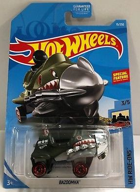 New 2019 Hot Wheels Bazoomka Treasure Hunt HW Ride Ons Series Car