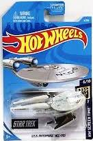 New 2019 Hot Wheels Star Trek U.S.S. Enterprise NCC-1701 HW Screen Time Series 6/10 Movie and TV Show Car