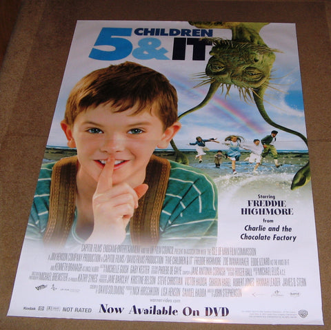 5 Children & It Movie Poster 27x40 used