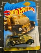 New 2020 Hot Wheels Fast Gassin Gold