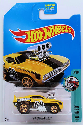 New 2017 Hot Wheels 1969 Camaro Z28 Treasure Hunt '69 Car