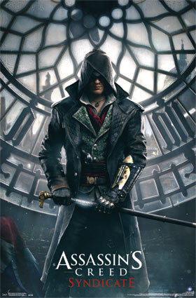 AC Syndicate - Big Ben Assassins Creed Game Poster RP14308 UPC882663043088 22x34