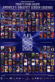 AFI's 100 Years 100 Stars Movie Poster 27x40 Used