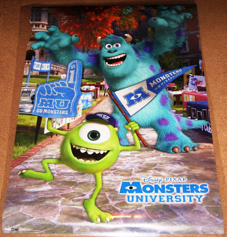 AR – Monsters University RP6392 Rare Used 22x34 Pixar Disney