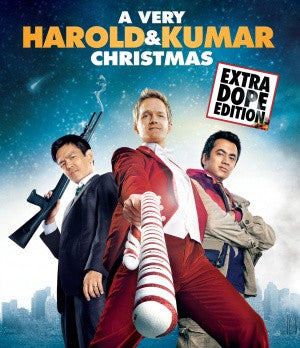 A Very Harold & Kumar Christmas Movie Poster 27X40 Used Danny Trejo, April Canning, John Cho, Danielle McKee, Paula Garces, Kal Penn, Dave Davies, David Krumholtz, RZA, Neil Patrick Harris, Thomas Lennon, Elias Koteas, Richard Riehle