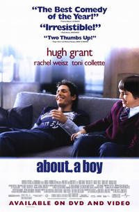 About a Boy Movie Poster 27x40 used