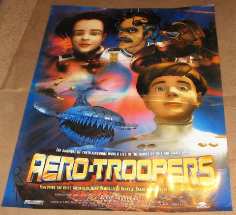 Aero-Troopers Movie Poster 27x40 Used