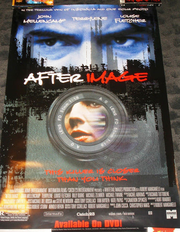 After Image Movie Poster 27x40 used