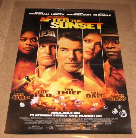 After The Sunset Movie Poster 27x40 used