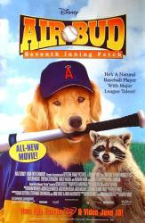 Air Bud Seventh Inning Fetch Movie Poster 27x40 used
