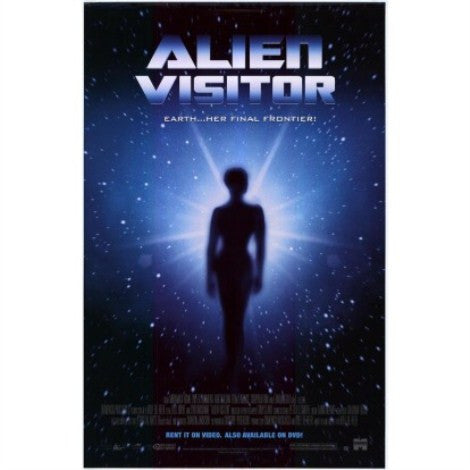 Alien Visitor Movie Poster 27x40 used