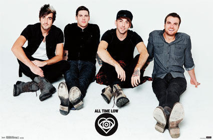 All Time Low - Chillin Music Poster RP14392 22x34 UPC882663043927