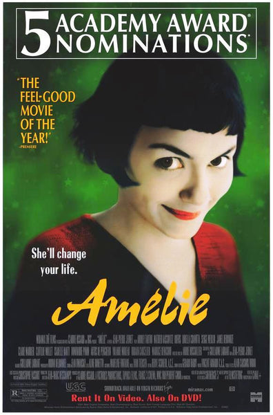 Amelie Movie Poster 27x40 Used MCP0005 – Mason City Poster Company