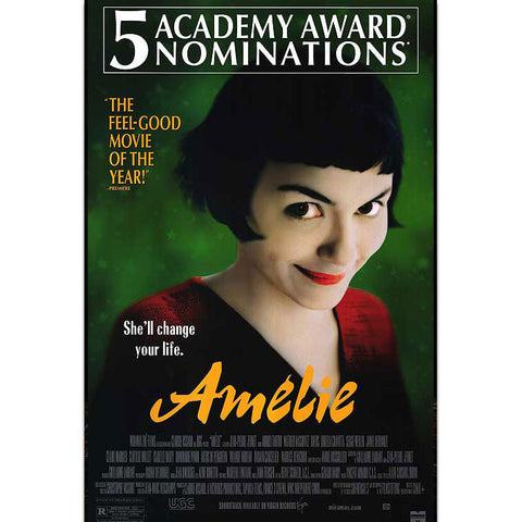 Amelie Movie Poster 27x40 Used