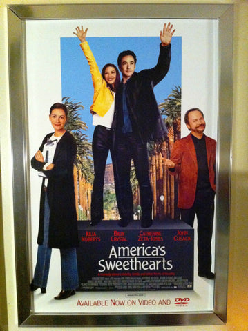 America's Sweethearts Movie Poster 27x40  Used