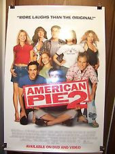 American Pie 2 Movie Poster 27x40 Used