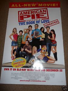 American Pie The Book of Love Movie Poster 27x40 Used