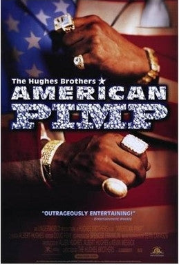 American Pimp 2000 Movie Poster 27x40 Used-Condition Hugh M Hefner, The Bishop Don Magic Juan, Conan O'Brien, Antonio Fargas, Heidi Fleiss