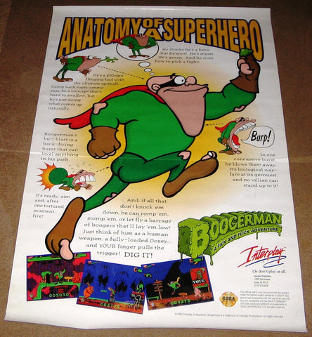 Anatomy of a Superhero Game Poster 27x40 Used