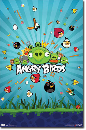 Angry Birds – Group RP1324 Game Poster 22x34