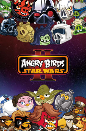Angry Birds Star Wars 2 – Characters RP2183 Game Poster 22x34 UPC017681021835