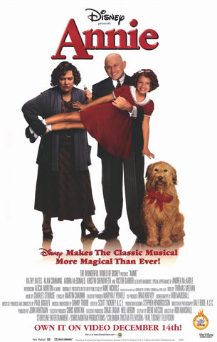 Annie 1999 Movie Poster 27x40 Used Disney