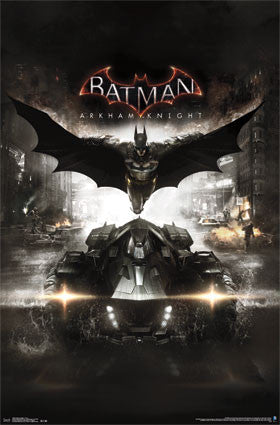 Arkham Knight - Cover Movie Poster RP13489 22x34 UPC882663034895 DC Comics Batman
