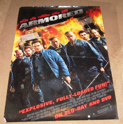 Armored Movie Poster 27x40	 Used