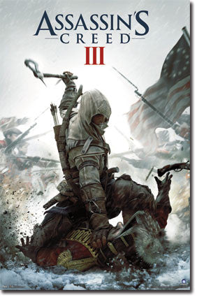 Assassins Creed 3 – Key Art	 Game Movie Poster RP5715 22x34 UPC017681057155