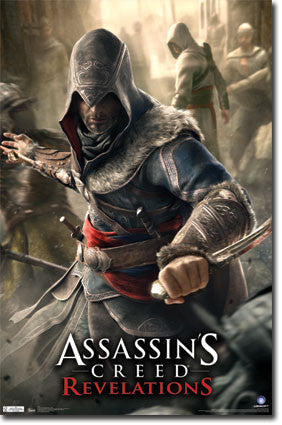 Assassins Creed Revelations Dagger RP1938 New 22x34 Game Poster