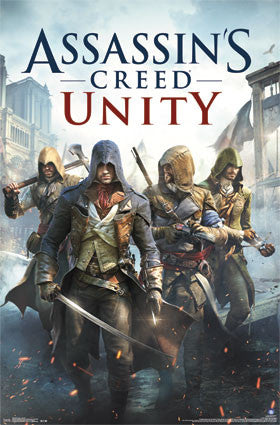 Assassin's Creed Unity - Key Art RP13572 Movie Game Poster 22x34