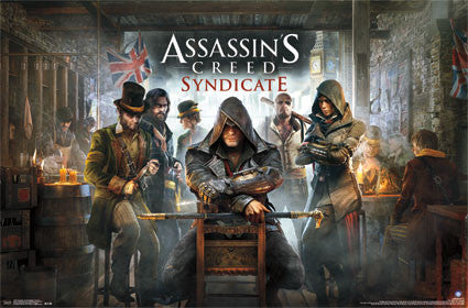 Assassins Creed - Syndicate - Key Art Game Poster 22x34 RP14307 UPC882663043071
